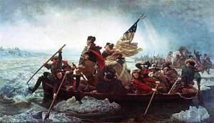 Washington Crossing the Delaware by Leutze