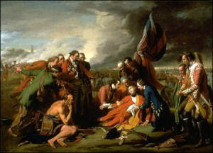 Death of General Wolfe by West