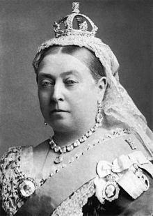 An extremely interested party: Queen Victoria.