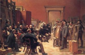 The Selection Committee, Charles W Cope 1876