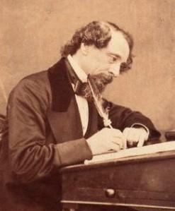 Charles Dickens  by (George) Herbert Watkins,photograph,1858