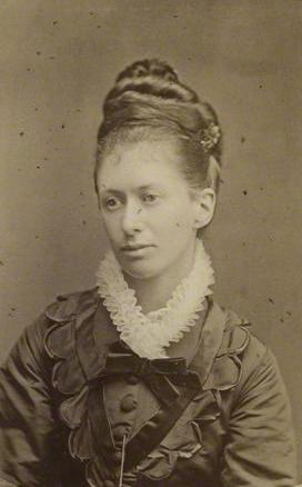 Elizabeth in 1877 by Fradelle & Marshall.