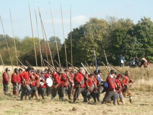 English Infantry, mid 1600s