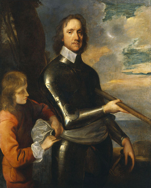 Oliver Cromwell, 1649 by Robert Walker.
