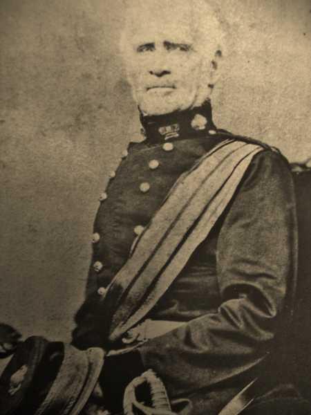 Field Marshal Sir William Rowan GCB 1789-1879. Major 52nd Light Infantry at Waterloo.