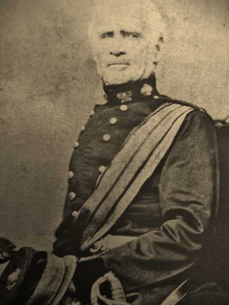 Field Marshal Sir William Rowan GCB 1789-1879. Major 52nd Light Infantry at Waterloo.