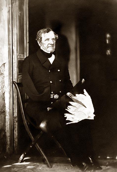 Lord Fitzroy Somerset 1855 as Lord Raglan CinC in the Crimea.