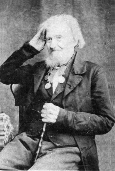 Private John Jack 52nd (Oxfordshire) Light Infantry 90 years old at the time of this photo in 1870.