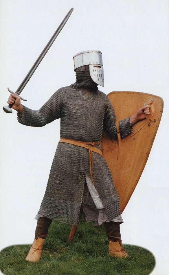 12th century, knight, reenactor