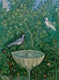 Fountain Fresco from Pompeii.