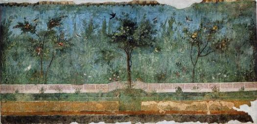 Garden Fresco from the Villa of Oplontis