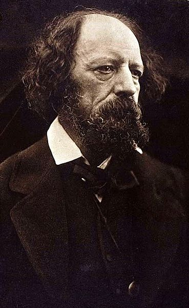 Alfred Tennyson Poet Laureate 1869 (not yet elevated to the peerage)
