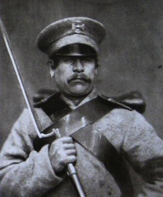Vasiliy Startsev (sub-officer of 4th company, 2nd druzhina (regiment) of militia)1850s.