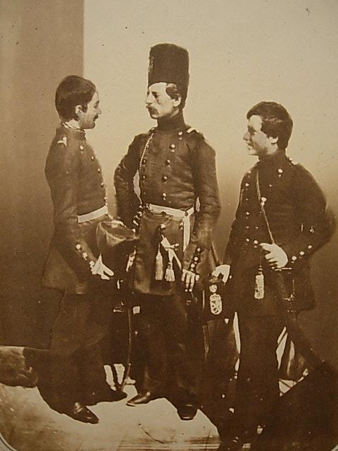 Russian Volunteers from Bulgaria taken by Carol Szathmari in 1854.