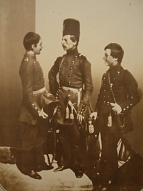 Russian Volunteers from Bulgaria taken by Carol Szathmari in 1854.
