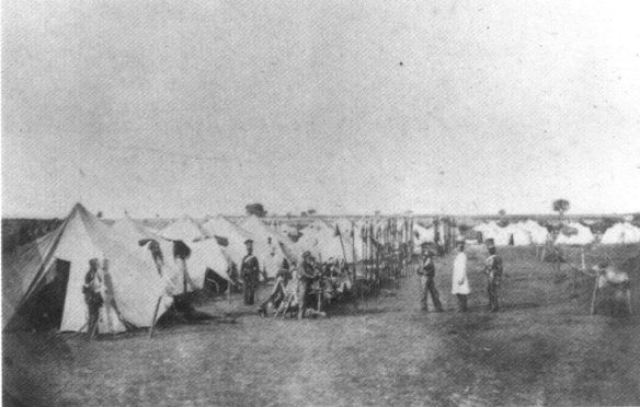 Camp of Russian Ulans