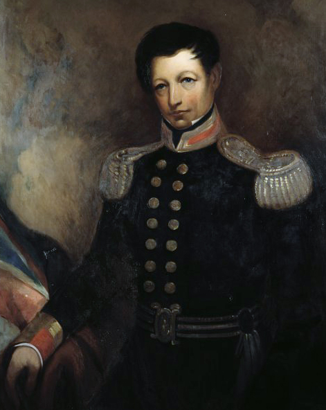Captain William Hobson New Zealand's first Governor.