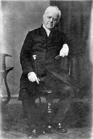 Missionary Henry Williams who translated the treaty into Maori.