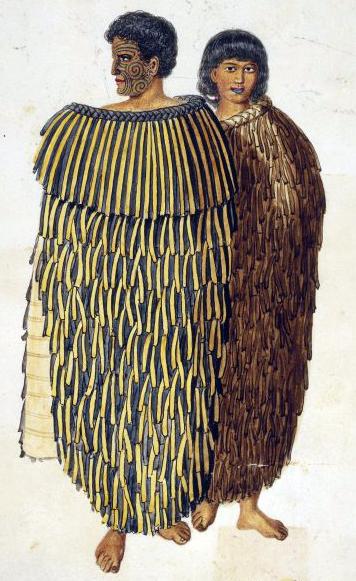 Chief Hone Heke and his wife Hariata 1845