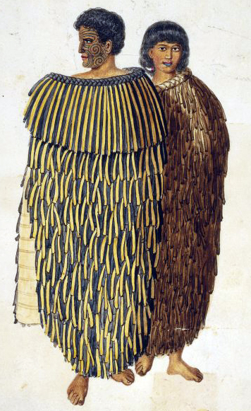 Chief Hone Heke and his wife Hariata 1845