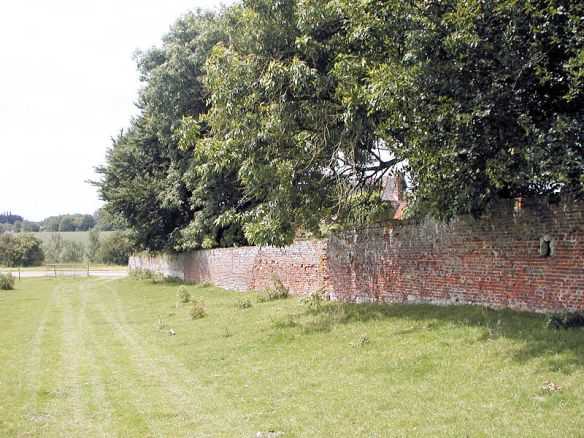 The loopholes in the South Wall of Hougoumont.