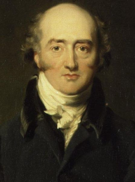 George Canning by Richard Evans, British Foreign Secretary in 1826