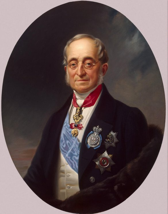 Count Von Nesselode Russian Foreign Minister