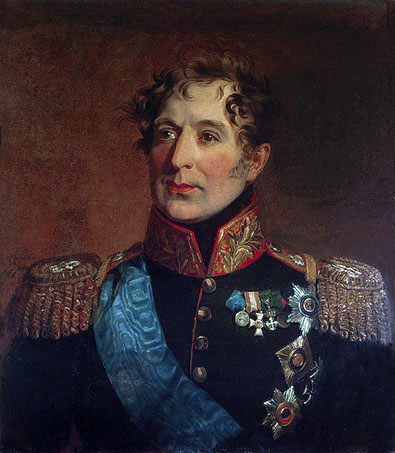 General Mikhail Miloradovich by George Dawe.