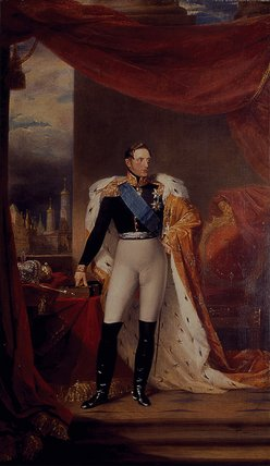 Tsar Nicholas I by Dawes 1826