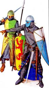 Late 12th Century Knights by Angus McBride.