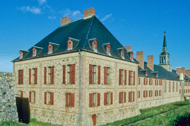 The Governor's Residence at Louisbourg.