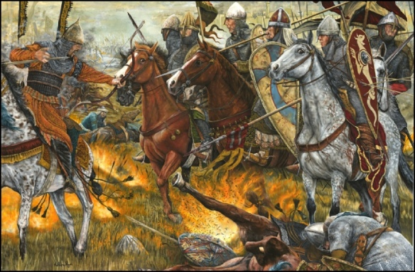 Battle of Antioch. One of the many surprising victories won by the first crusade. by Matthew Ryan.