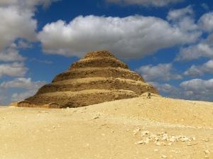Pyramid of Djoser.