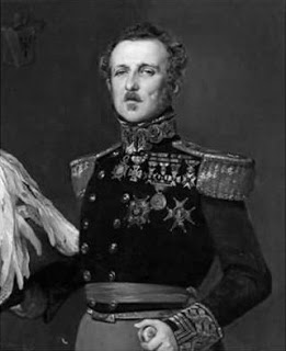 Captain Miniussir, in 1843, having gained higher rank, since his days in Paris as aid to Alava.