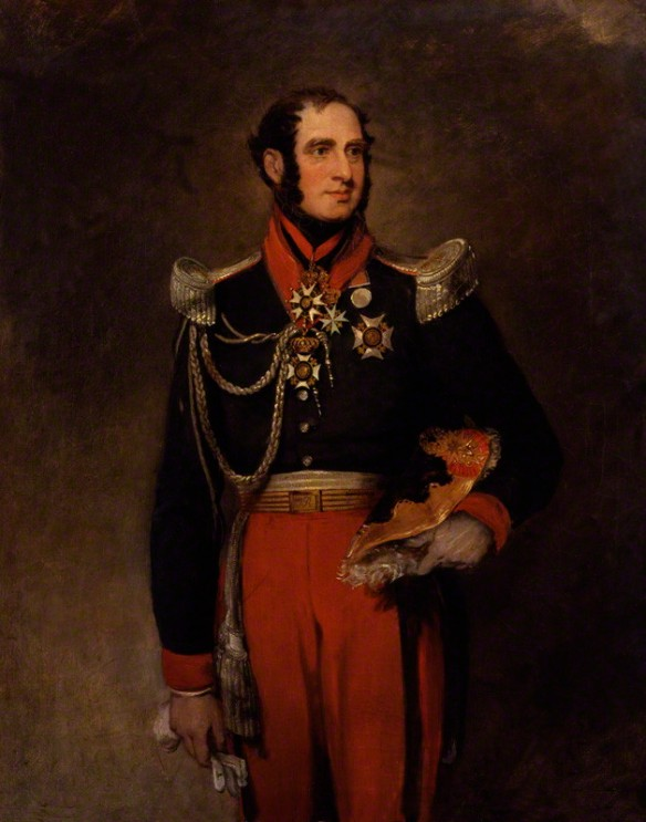 Paolo Ruffo di Bagnaria, Prince of Castelcicala by William Salter 1834-40. National Portrait Gallery.