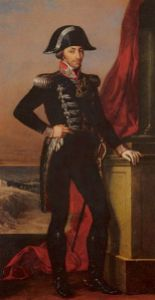 King Vittorio Emanuele I, whose restoration in 1814 marked a turning point in Paolo's fortunes,