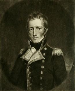 Captain Frederick Lewis Maitland, of HMS Bellerophon.