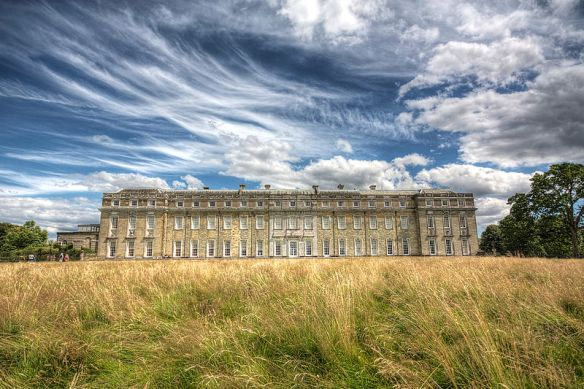 Pentworth House in Sussex, where no Wyndham had closed a door since Hougoumont.