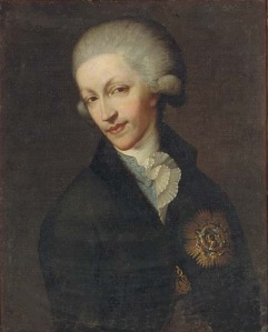 King Carlo Emanuele IV, former Prince of Piedmont.