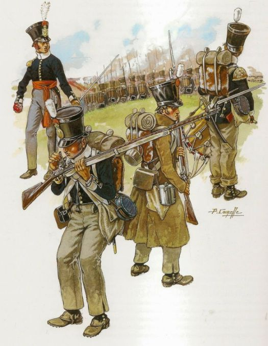 Dutch Line and Militia regiments made up the second largest national contingent in Wellington's army. However their loyalty would remain a question mark until the shooting started.