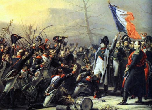 The 7e Ligne goes over to Napoleon and Grenoble fell to him soon after. by Steuben.