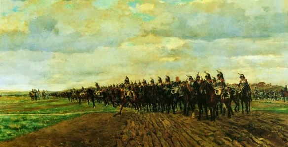 The cavalry had suffered the most in the period between 1812 and 1814. Most regiments were shadows of what they had been in 1805, despite this a large cavalry force of many understrength regiments was available to Napoleon within two months of his return.