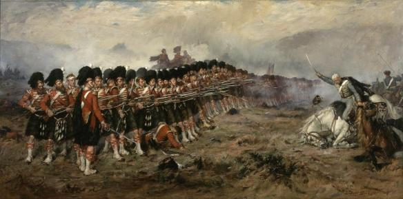 93rd Highlanders, the thin red line.