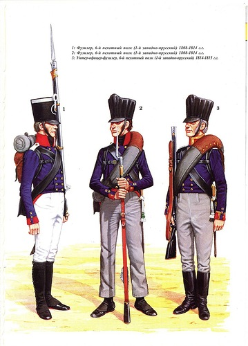 Prussian Line Infantry were well drilled and disciplined, forming the core of Blucher's army.