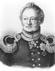 Baron von Muffling, Prussian Liason officer at Wellington's headquarters.