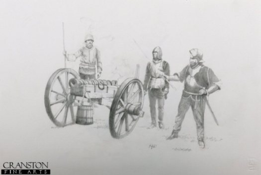 Wheeled artillery was at the the cutting edge of military technology, and heavily utilised by Warwick. By Chris Collingwood.