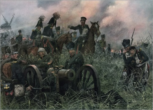 Gneisenau orders the retreat to Tilly, as the Prussian Centre withdraws.