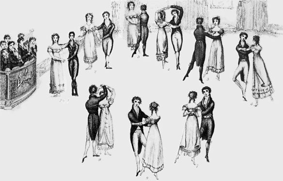 Wilson's Correct Method of French and German Waltzing. Despite its rather notorious reputation, its a far cry from you see in ballroom competitions today.