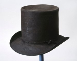 Picton's round hat, form the 1815 campaign.