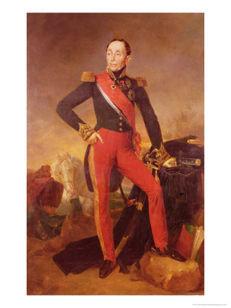 Marshal Grouchy, the cautious and controversial commander of Napoleon's right.